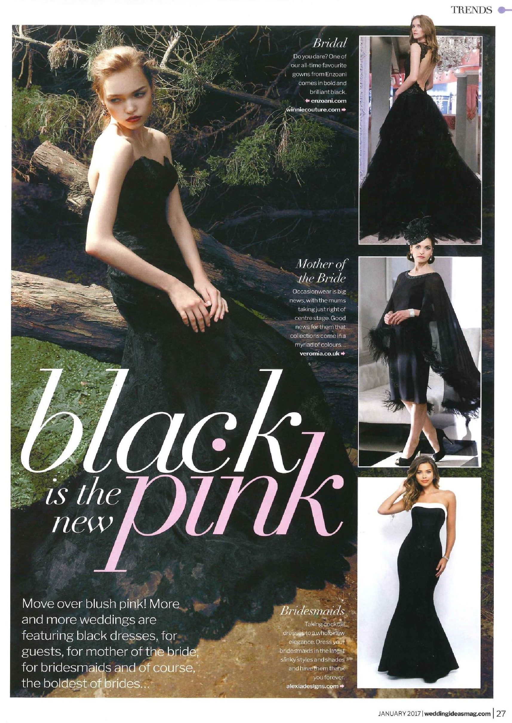 Black is the new Pink